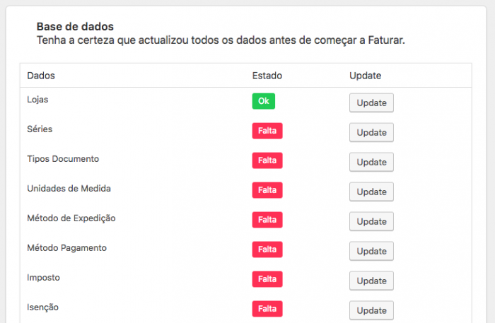 Faturar online portugal